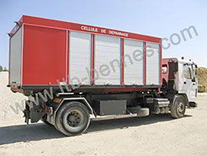 camion-porte-containeur